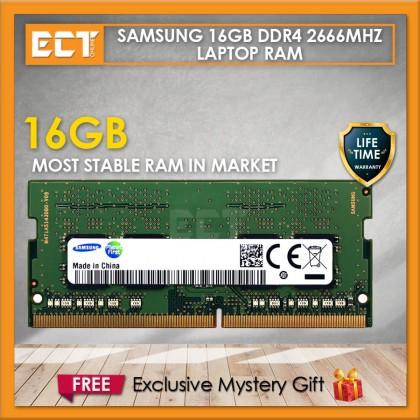 Samsung 16GB DDR4 PC4-21300 2666Mhz SODIMM Laptop Memory Ram