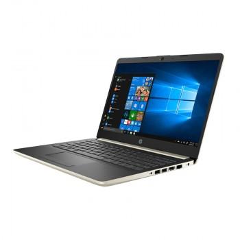 "HP 14S-CF0068TX Laptop (i3-7020U 2.30Ghz,1TB,4GB,ATI 530-2GB,14"" HD,W10) - Gold"