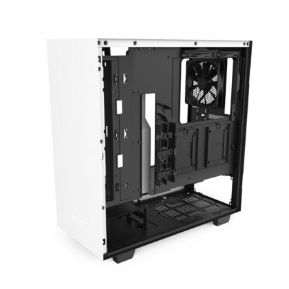 (Pre-Order) NZXT H510 Compact Mid-Tower Case with Tempered Glass - Black/White/Red