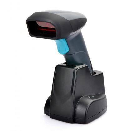 HEROJE SCANBOSS H018 Wireless Laser Barcode Scanner with Charging Base Docking Station