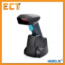 HEROJE SCANBOSS H018 Wireless Laser Barcode Scanner with Charging Base Docking Station