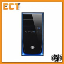 Cooler Master Elite 344 USB 3.0 Mid Tower Casing/Chassis RC-344-KKN2 (Blue)