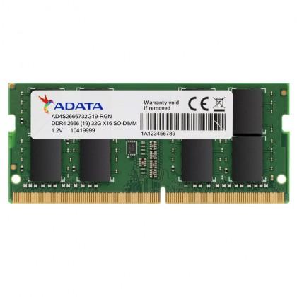 ADATA Premier DDR4 PC4-21300 2666MHz SODIMM Laptop Notebook Memory Ram - 4GB/8GB/16GB/32GB