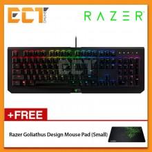 Razer Blackwidow X Chroma Green Mechanical Switch Military Grade Gaming Keyboard (RZ03-01760200-R3M1)
