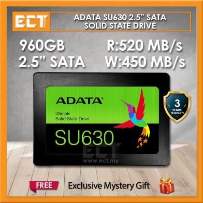 "ADATA SU630 2.5"" SATA 480GB/960GB Solid State Drive SSD"