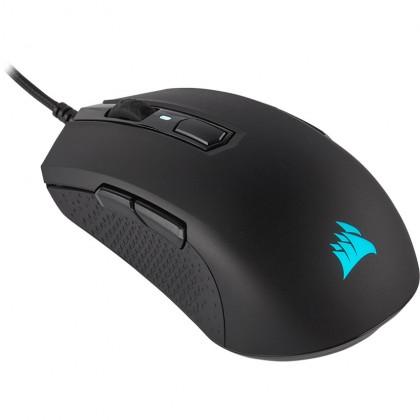 (Bundle) Corsair K70 RGB MK.2 Mechanical Gaming Keyboard + M55 RGB PRO Ambidextrous Gaming Mouse + MM300 Gaming Mousepad (Medium) Combo