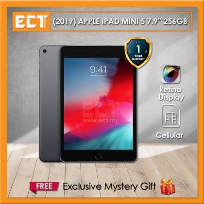 "(2019) Apple iPad Mini MUXC2ZP/A (A12 2.50GHz,256GB,WiFi + Cellular,7.9"") - Grey"
