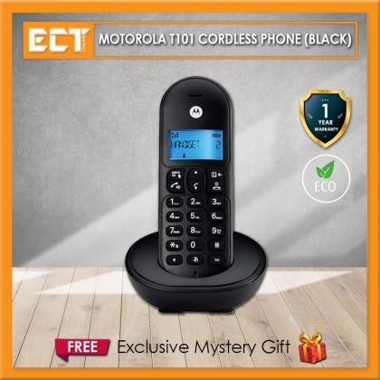 Motorola T101 Cordless Phone - Black