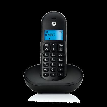 Motorola T102 Twinpack Cordless Phone - Black