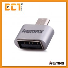 Genuine REMAX OTG Micro USB To USB Adapter RA-OTG (For Android) - Silver