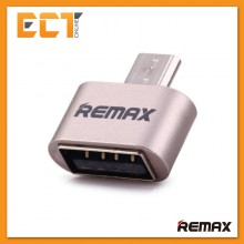Genuine REMAX OTG Micro USB To USB Adapter RA-OTG (For Android) - Gold