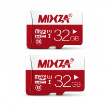 Bundle of 2 Mixza 32GB Class 10 Smart Card Micro SDHC Memory Card for Mobile Phone and Smart Device