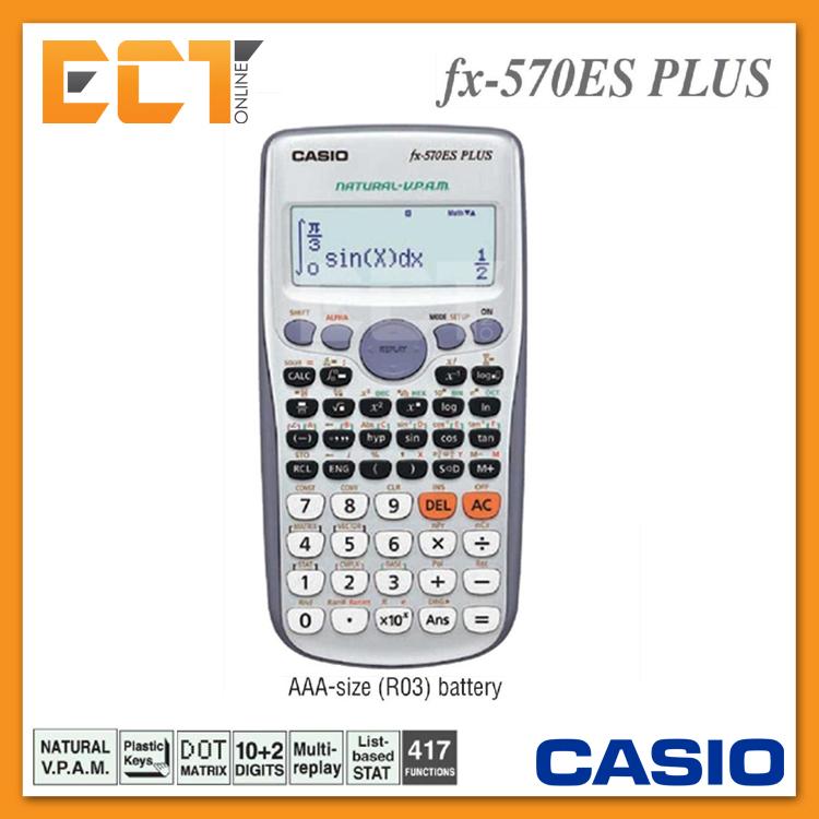 School scientific calculator fx 500 es plus  - redotire cf