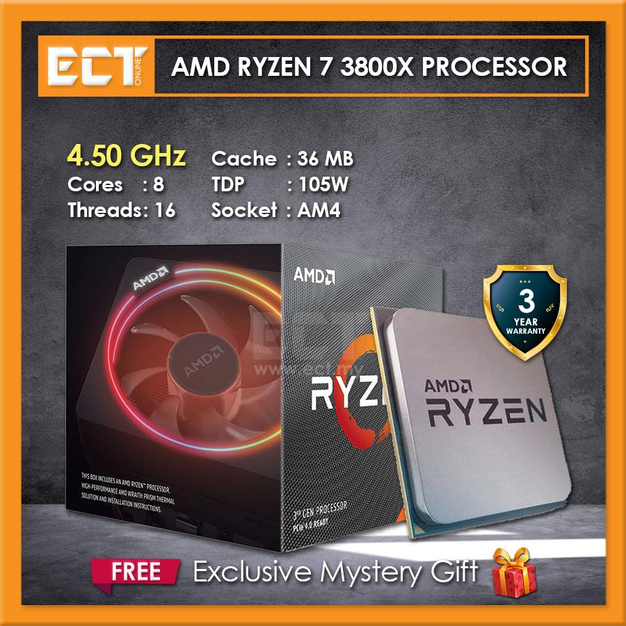 Amd Ryzen 7 3800x Desktop Processor 4 50ghz 8 Cores 16 Threads Am4 Socket